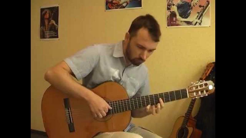 Колечко - Иванушки (кавер на гитаре В.Трощинков)
