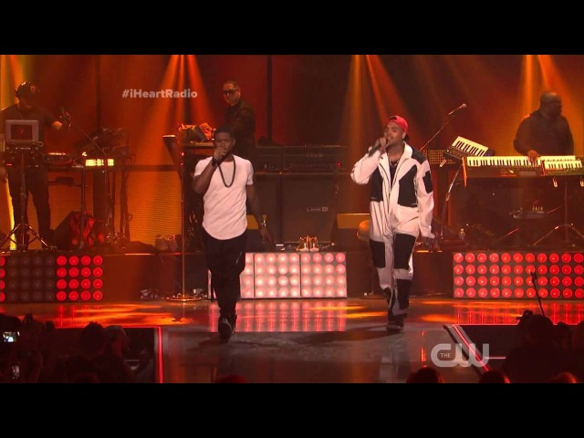Chris Brown x Usher - New Flame (Live Best Version)