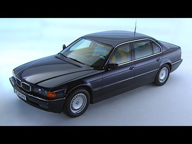 TBT BMW 750iL ARMORED Full Promo Film 1999 BMW E38 REVIEW Bulletproof Bombproof TV Ad CARJAM 2015