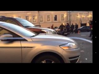 ДТП на Садовом кольце Москвы 20.10.2015
