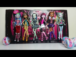 Monster High Rerelease 6 Pack Review - Ghoulia, Cleo, Frankie, Draculaura, Clawdeen & Lagoona