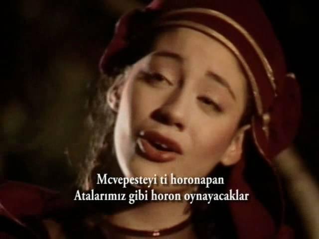 Mariami Abdushelishvili (Lazuri Nani-Nana) [Türkçe Lazca Altyazılı]