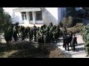 19.03.2014 Крым Новоозёрное захват передача штаба