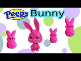 DIY Custom LPS Easter Sugar Marshmallow PEEPS Bunny Chocolate Glitter Candy Littlest Pet Shop Craft