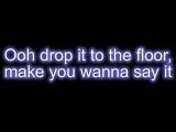 Pitbull ft. T-Pain - Hey Baby (Drop It To The Floor) + Lyrics On Screen - HQHD
