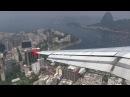 Best Approach in the World! Rio de Janeiro Santos Dumont