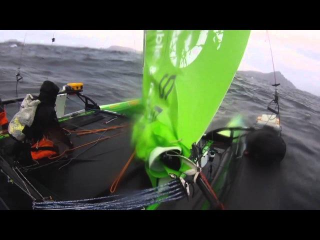 Yvan Bourgnon : le Cap Horn en mini catamaran
