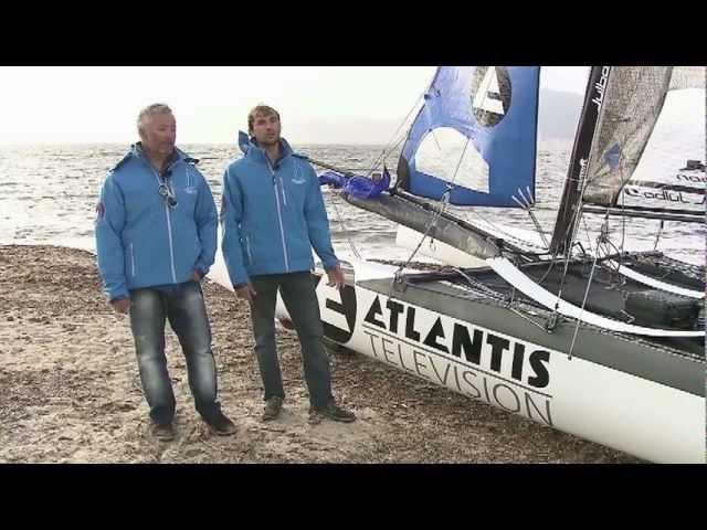 Record Tour de Corse (Défi Atlantis Télévision) : préparation avec Yvan Bourgnon et Joris Cocaud