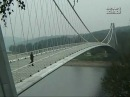 Как это построено Подвесные мосты.