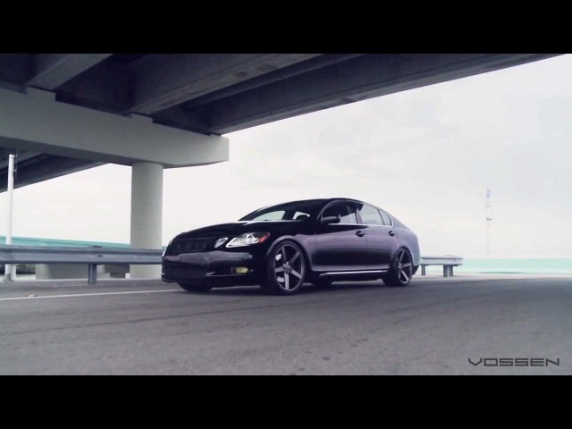 Lexus GS450h Hybrid on 20 Vossen VVS-CV3 Concave Wheels / Rims