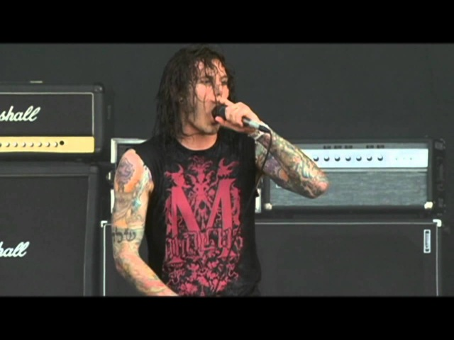 As I Lay Dying - Confined Wacken 2008 [HD]