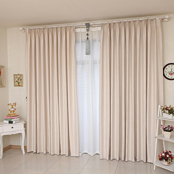 Дизайн штор в стиле минимализм