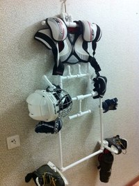 Сушилки для хоккейной формы своими руками