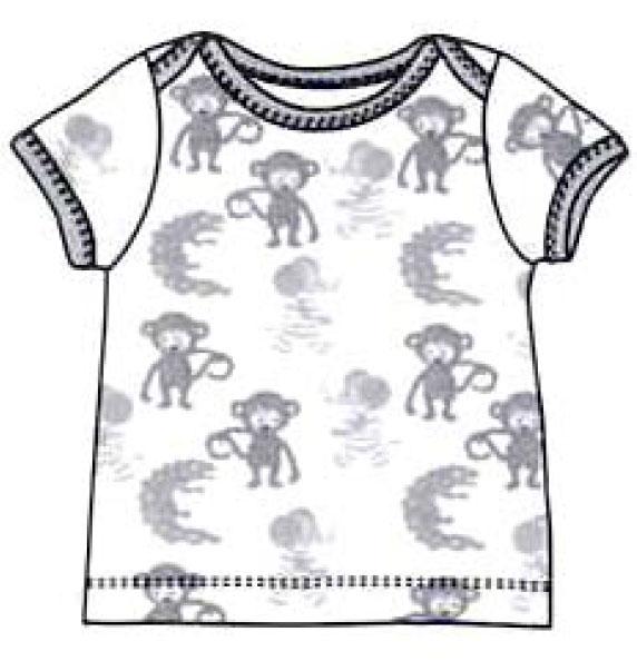 лекало детского футболка