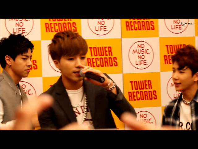 [HIGH4 IN JAPAN] 150719 HIGH4 miniLIVE Baby Boy(JP ver)(SungGu focus)