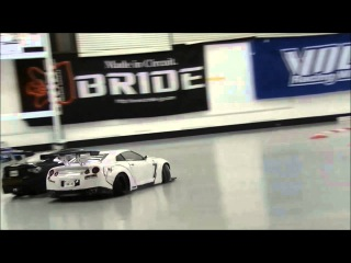 PLUSD サーキット 2015/3/26 スロー版 2WD 追走 R35 86 Aさん 撮影