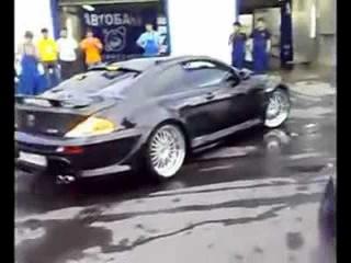 Нереальный рёв мотора на BMW. Зверь! Монстр!