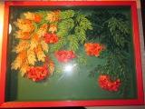 Quilling - Original quilled framed artwork under glass