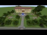 Строим парк и мэрию (Майнкрафт: строим город #1)