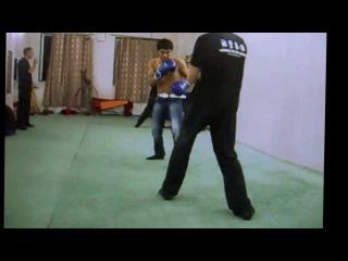 Вин Чун против Бокса ( без ног )