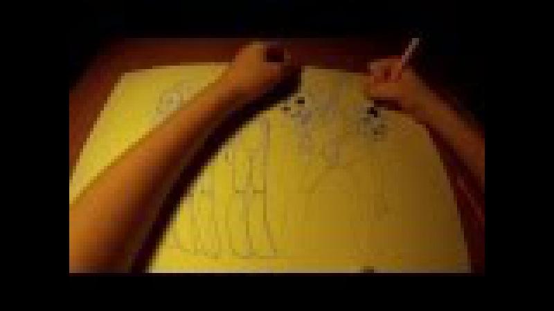 Five night at Freddy's 2 art FNaF 5 ночей с Фредди 2 рисую арт