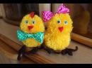 Урок по handmade Пасхальный цыпленок, делаем своими руками