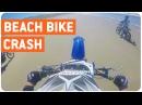 Moto Crash At The Beach Ride Or Swim