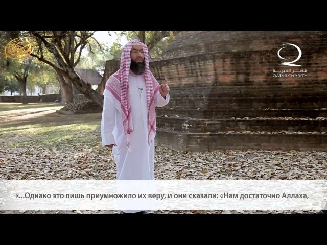 Шейх Набиль Аль-Авадий. Полагайся во всем на Аллаха, Прекрасного Покровителя.