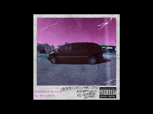 Kendrick Lamar - Bitch Don't Kill My Vibe (Chopped Screwed)