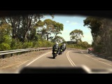 Motorcycle Ride to Live: Commuter rider. 15 seconds – Vehicles pulling out