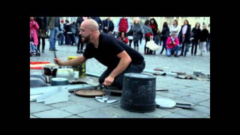 Dario Rossi TECHNO RAVE PARTY mode ON live @ Piazza del Popolo, Rome