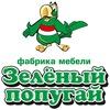 Зеленый попугай - фабрика мебели