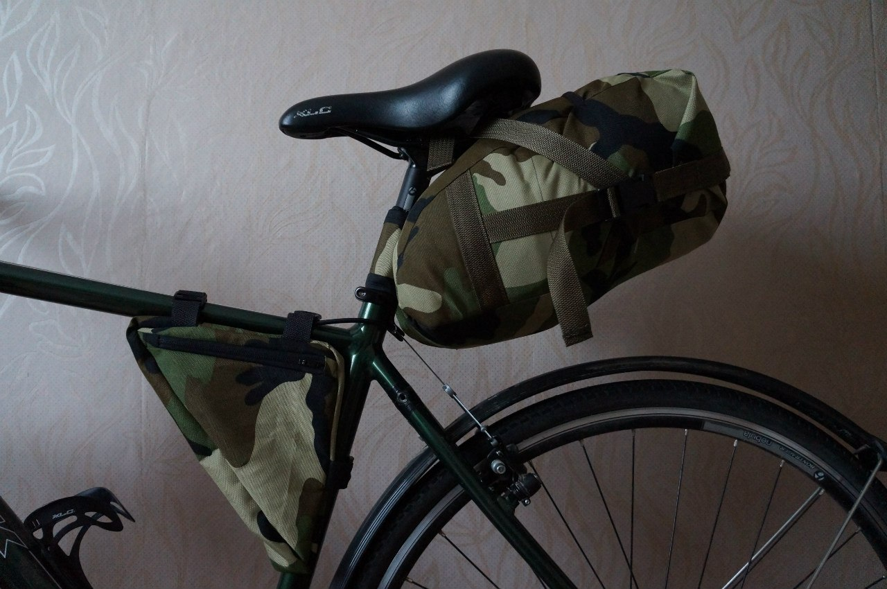 Велобаул на багажник своими руками