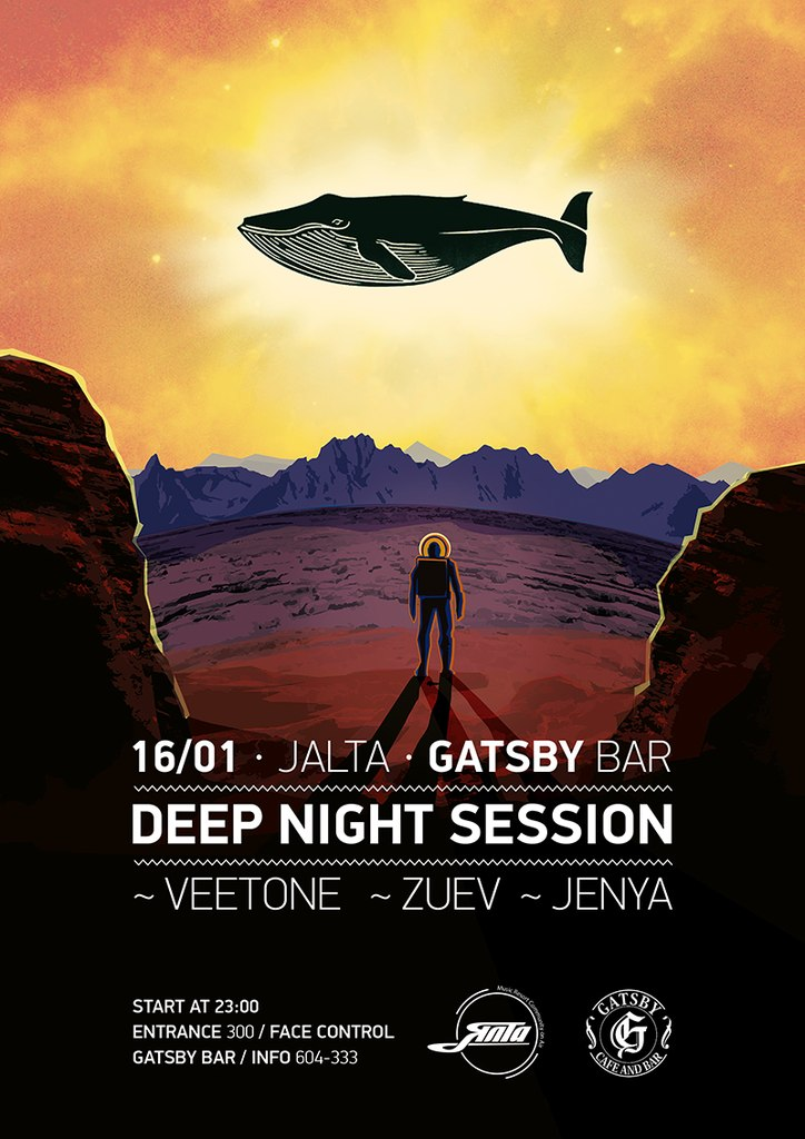 Афиша Хабаровск 16/01 - JALTA: DEEP NIGHT SESSION / GATSBY