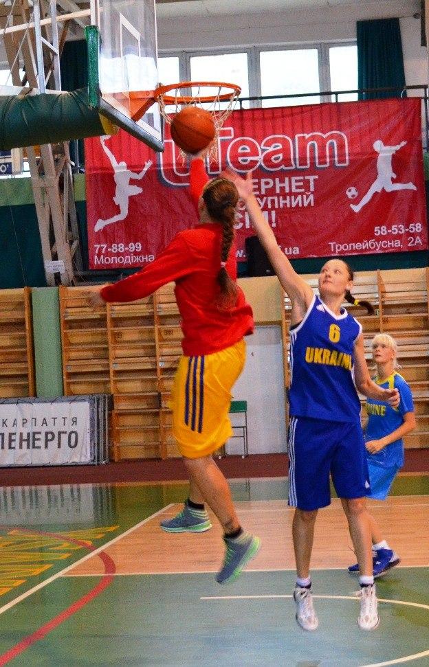 В Івано-Франківську тренується жіноча збірна України з баскетболу 8