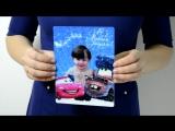 Детская новогодняя фотография (Фото открытка (по шаблону), формат 15х20)