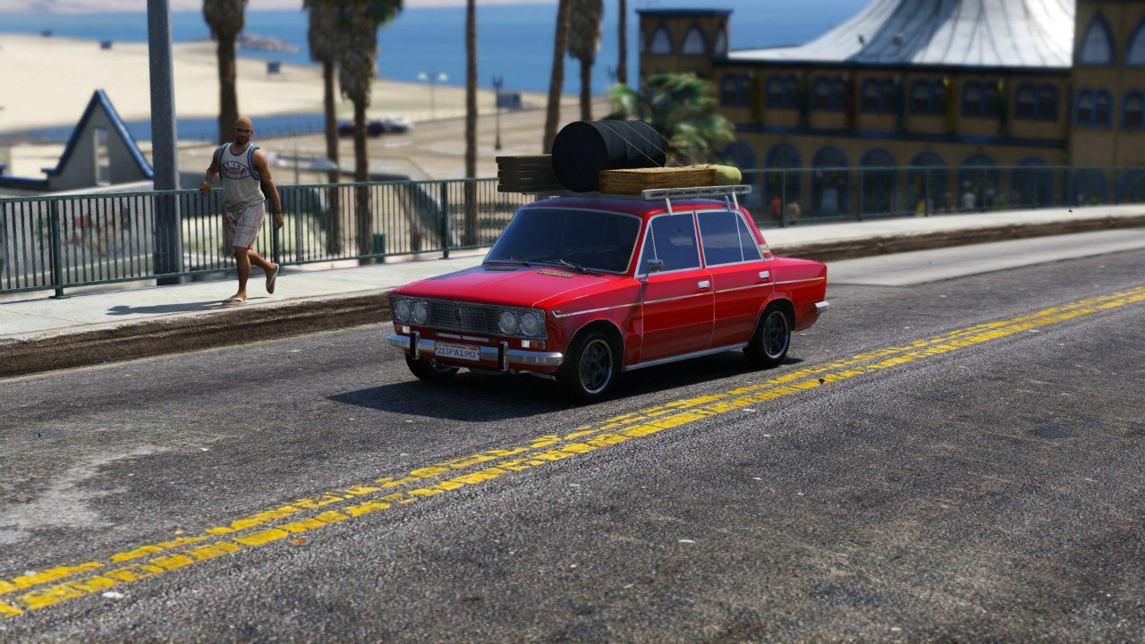 ВАЗ 2103 v1.1 для GTA V - Скриншот 1