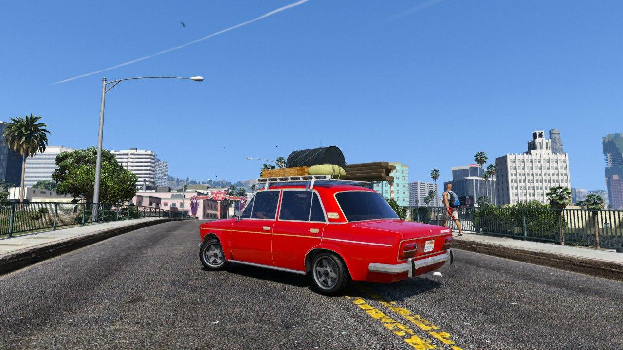 ВАЗ 2103 v1.1 для GTA V - Скриншот 2