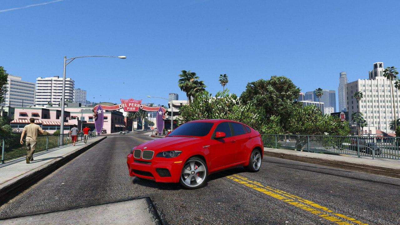 BMW X6M E71 для GTA V - Скриншот 2