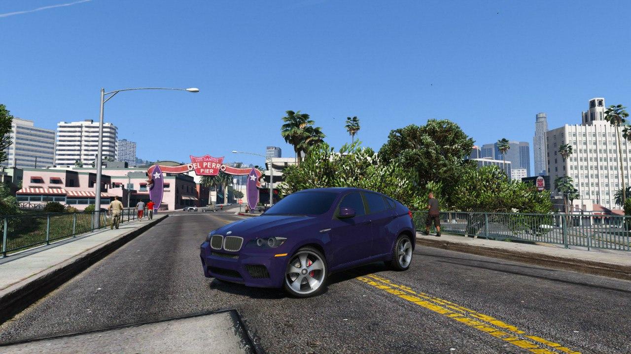 BMW X6M E71 для GTA V - Скриншот 1
