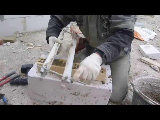 Супер приспособления для кладки кирпича,газо-пено-шлакоблоков, 18