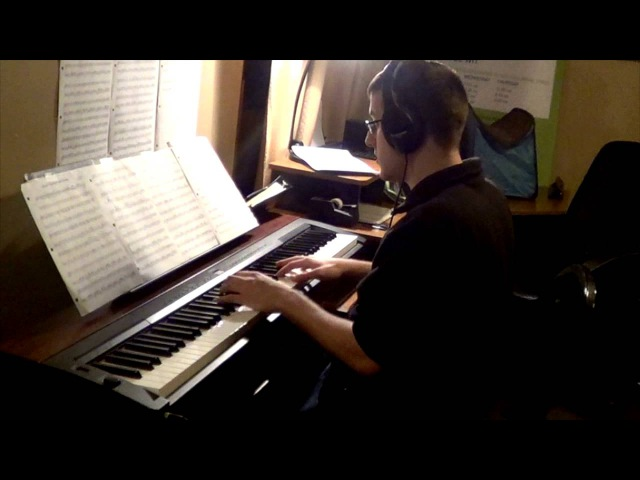 Howls Moving Castle Theme for Solo Piano HD - 하울의 움직이는성 (악보)