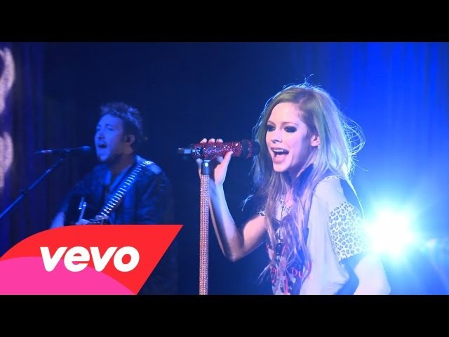 Avril Lavigne - What The Hell (AOL Sessions)