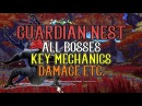 Lv70 Guardian Nest All Boss Mechanics Damage ! - Dragon Nest SEA