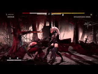 Mortal Kombat X: Sindel Confirmed KP2? (Boss Invasion)