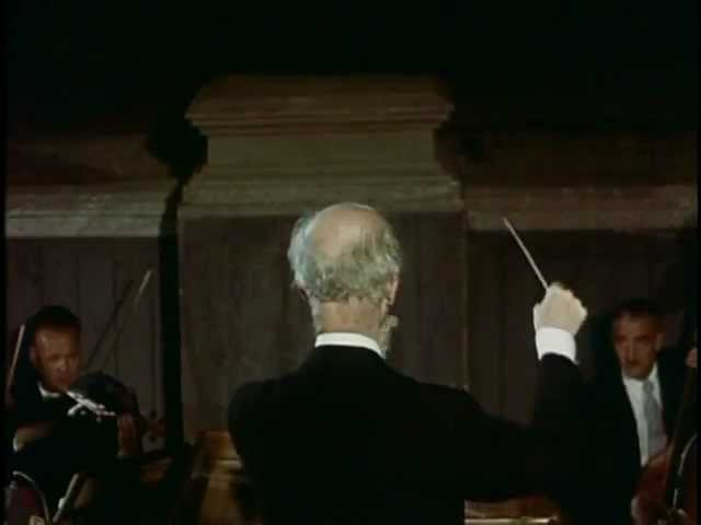 Furtwängler conducting Mozart's Don Giovanni Overture Salzburg 1954 In Colour