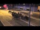 Manifestantes Resistem à Cavalaria Belo Horizonte 22 Junho 2013