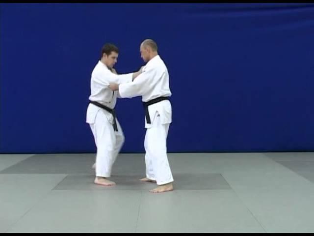 Kibisu gaeshi - Бросок захватом ноги за пятку