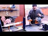 Самодельный токарный станок по дереву своими руками.Часть1.Homemade Wood Lathe