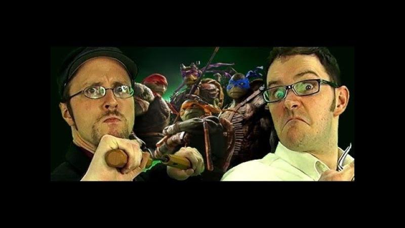Teenage Mutant Ninja Turtles Nostalgia Critic AVGN 279 RUS RVV
